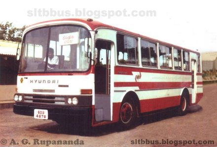 1999 Hyundai bus from SLTB