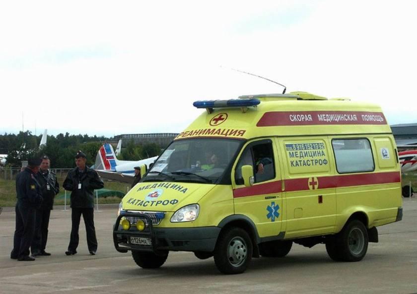 2001 GAZ Ambulance Moskou Rus