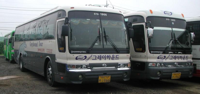 2003 Hyundai Aero Space bus