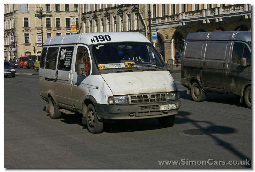 GAZ Gazellw Taxi Bus