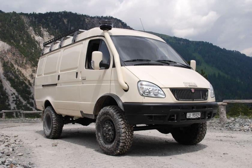 2004 GAZ Volga Gazelle 4x4