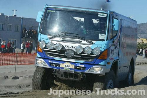 2004 Hino Dakar Rally. More Telefonica - Dakar
