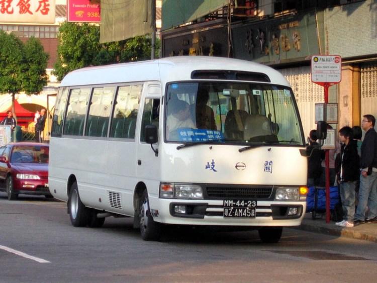 2005 Hino Liesse II LX Macau China