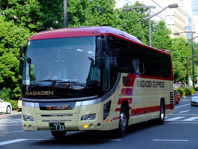 2005 Hino S'elega Nagaden-tokyo-nagano-highwaybus