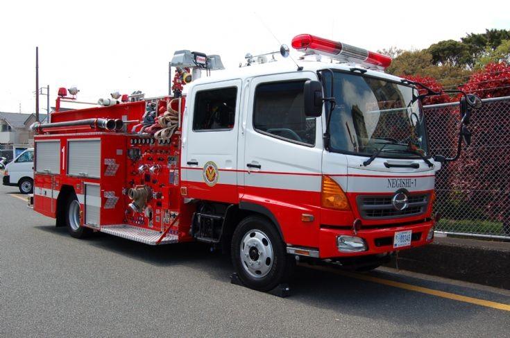 2006 Hino pumper Japan