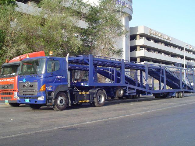 2006 hinoautotransporter Verenigde Arabische Emiraten Abu Dhabi