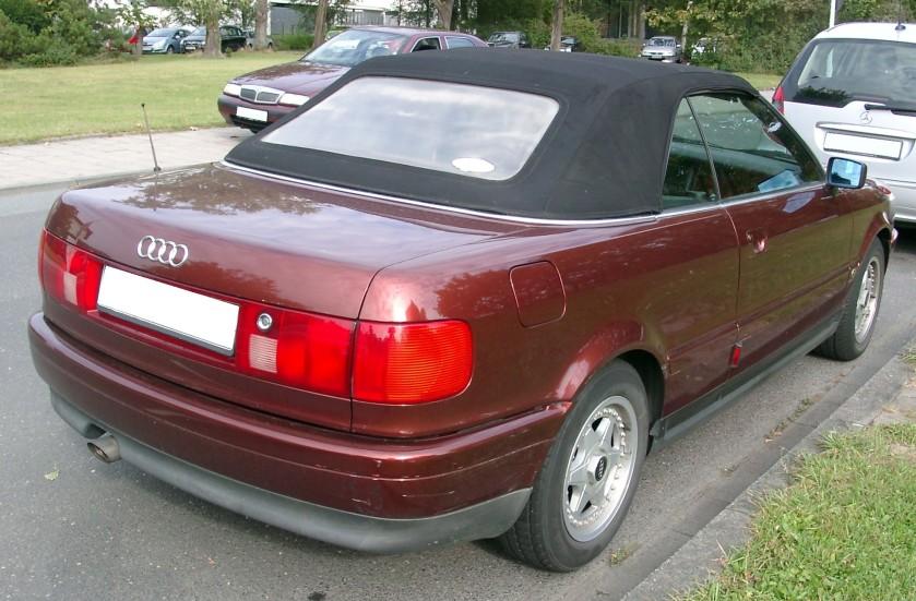 2007 Audi 80 B4 Cabrio rear