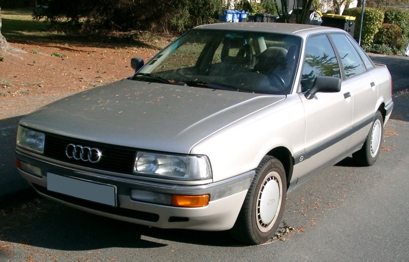 2007 Audi 90 front