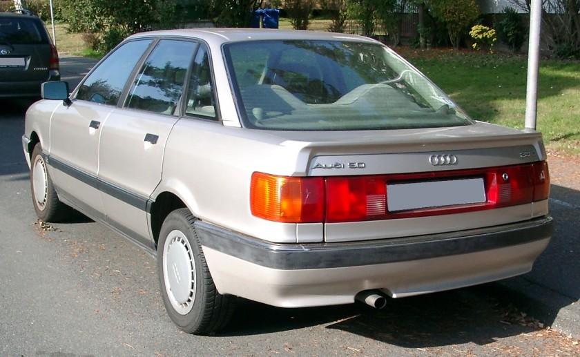 2007 Audi 90 rear