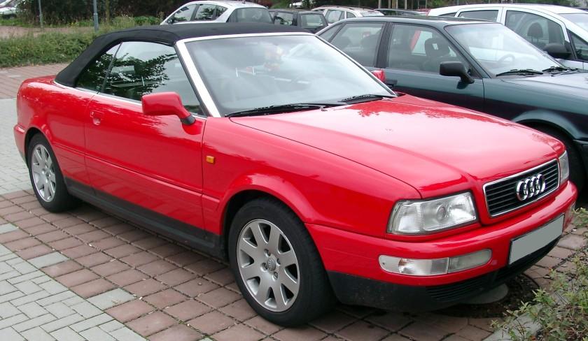 2007 Audi B4 Cabriolet