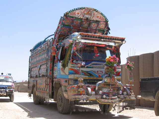 2007 Hino Afghanistan