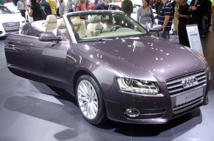 2008 Audi A5 Cabrio