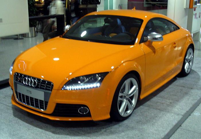 2008 Audi TTS Glutorange