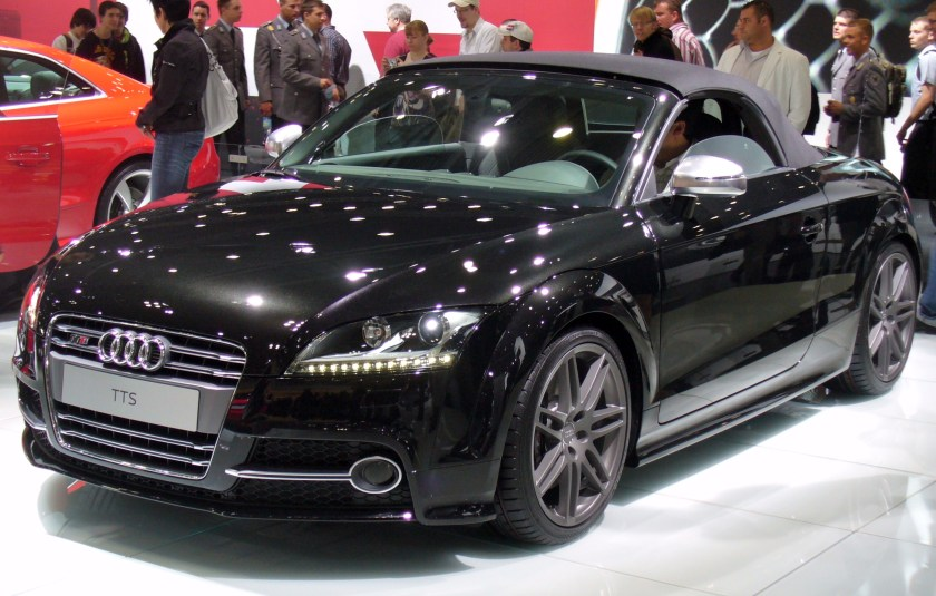 2009 Audi TTS Roadster Facelift