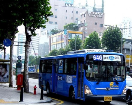 2009 Hyundai City Bus - Super Aero City S Korea