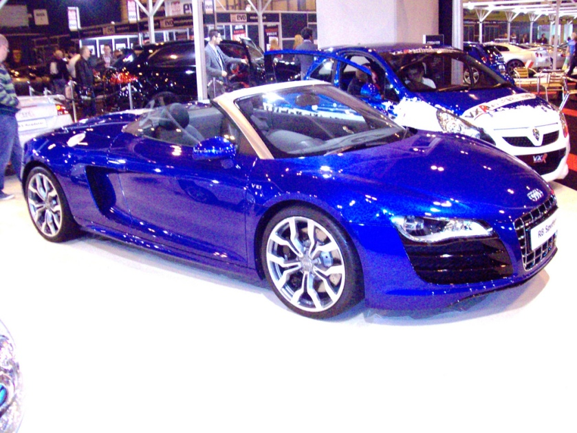 2010 Audi R8 Spyder Engine 4163cc V8