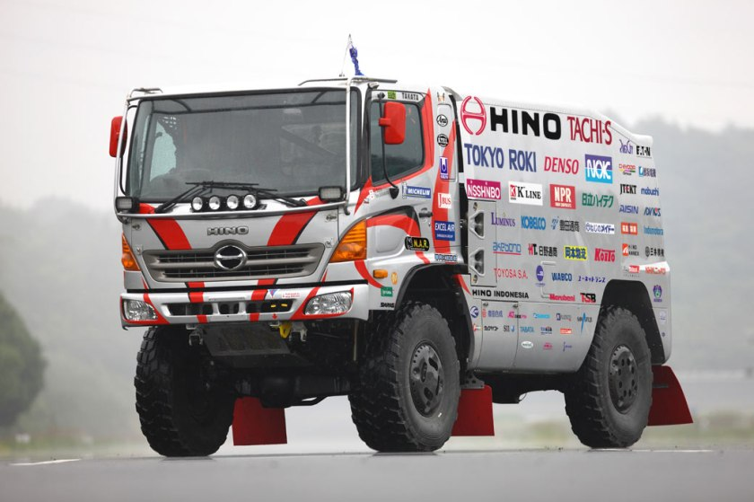 2011 Hino » 500 series Dakar Rally