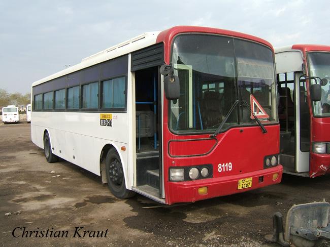 2011 Hyundai Super Aero City KuWait Citybus