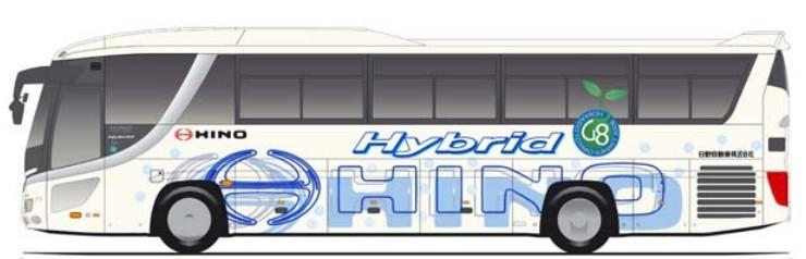 2012 Hino Hybrid