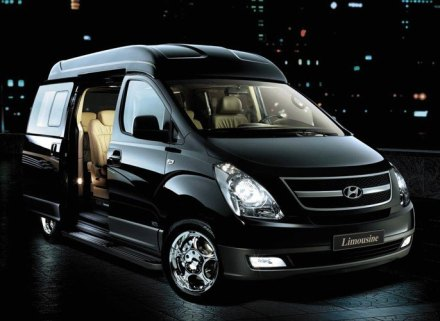 2013 Luxury Limousine Mini Bus Hyundai H1 Starex