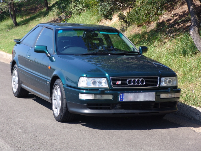 Audi S2 green