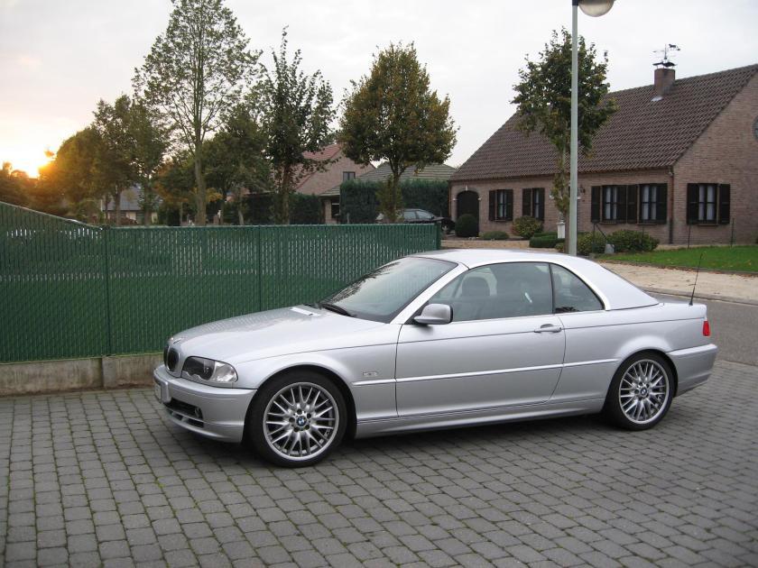 BMW Cabrio E46