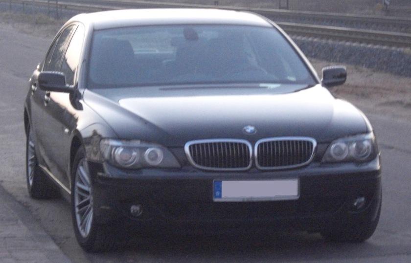 BMW E65 front