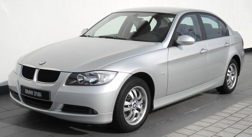 BMW E90 front E18