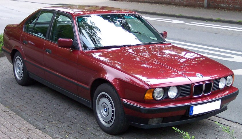 BMW Series 5 Old Model