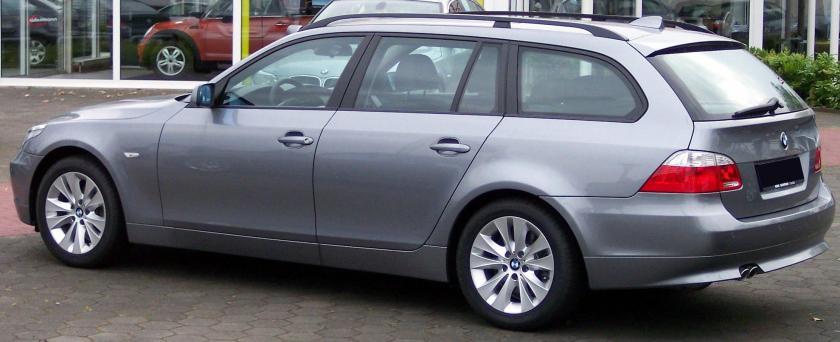 BMW Series 5 silver