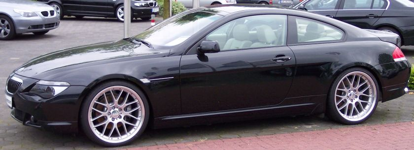 BMW Series 6 black (1)