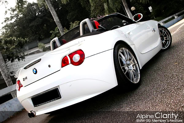 BMW SG Alpine Clarity Z4