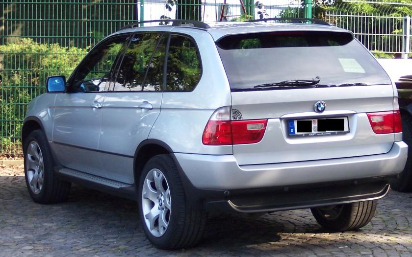 BMW X5 silver hl