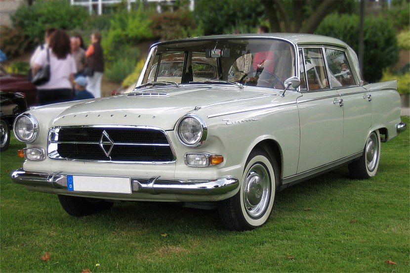 Borgward P100 with air spring