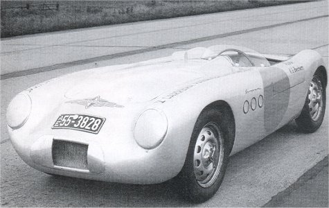 Borgward RS 55 racer