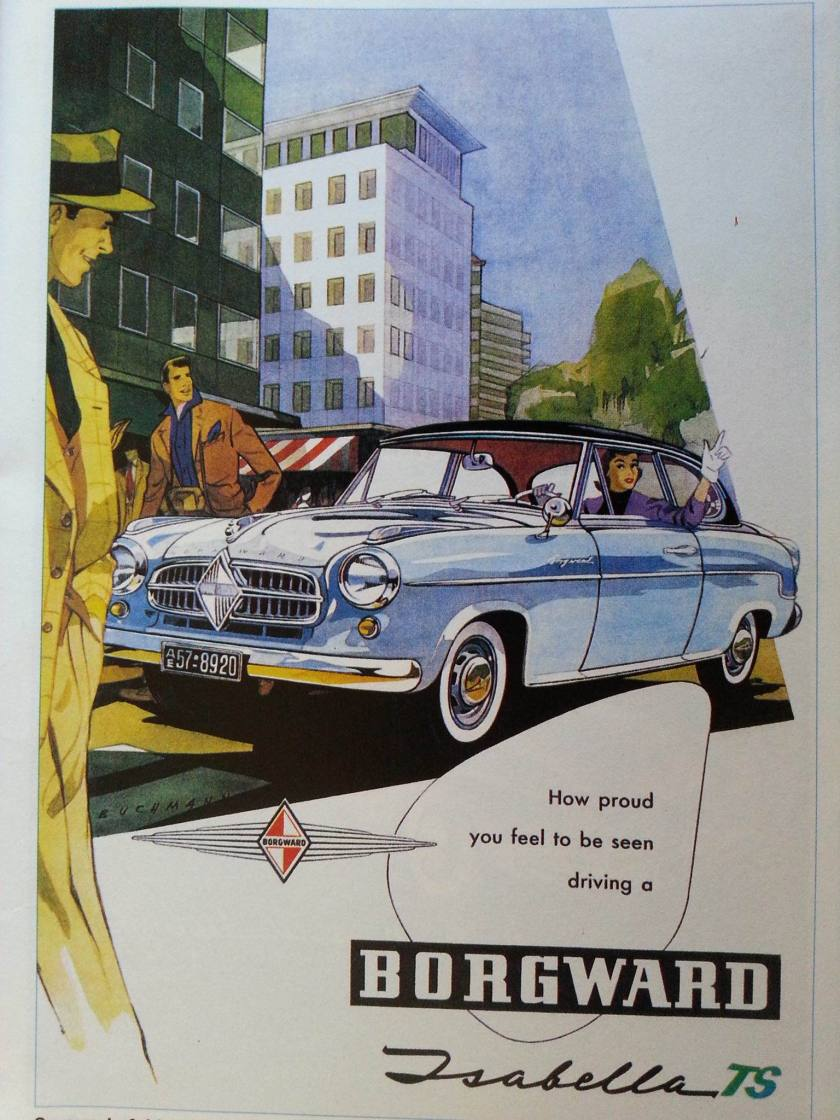 Borgward TS ad