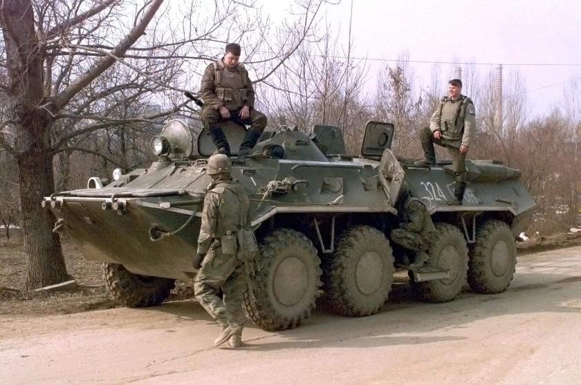 BTR-80 in Servië