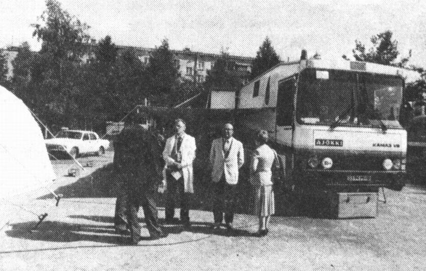 Bussen Aj Kamaz-Ajokki Blood Transfusion Stationblood transfusion station 12811
