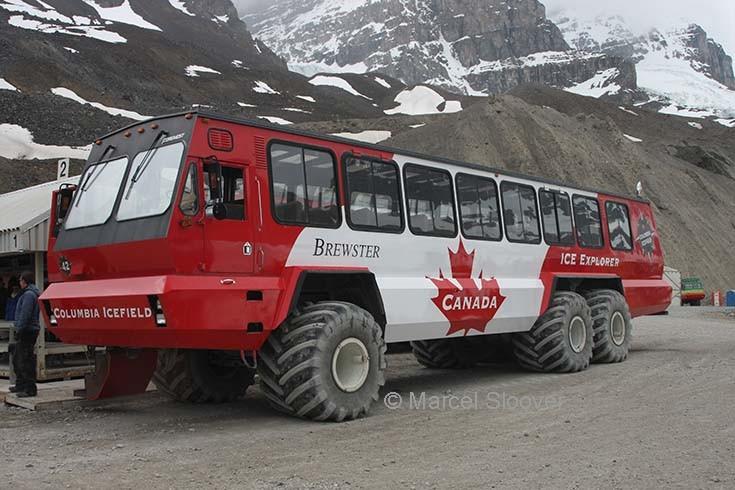 Bussen Ice explorer Canada