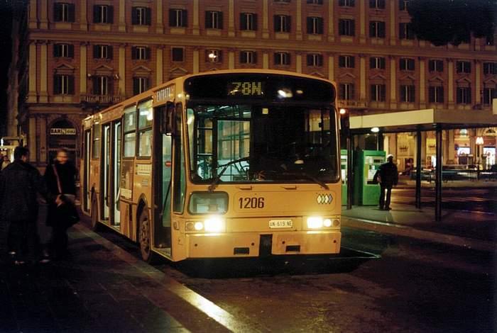 Bussen INBUS 1206 di ATAC Roma