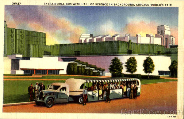 Bussen Intra Mural Bus Chicago World's Fair 1933