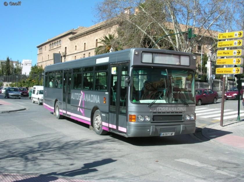 DAF SB220 with Hispano body