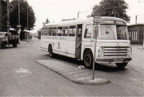 De 81 met z'n 3e carrosserie. Gebouwd bij Hondebrink te Almelo
