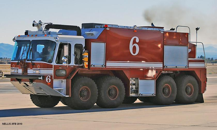 Fire Truck - Nellis Air Force Base 2010