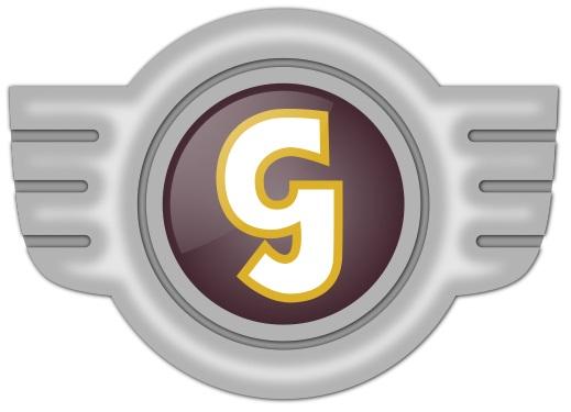 Glas Automarke Logo