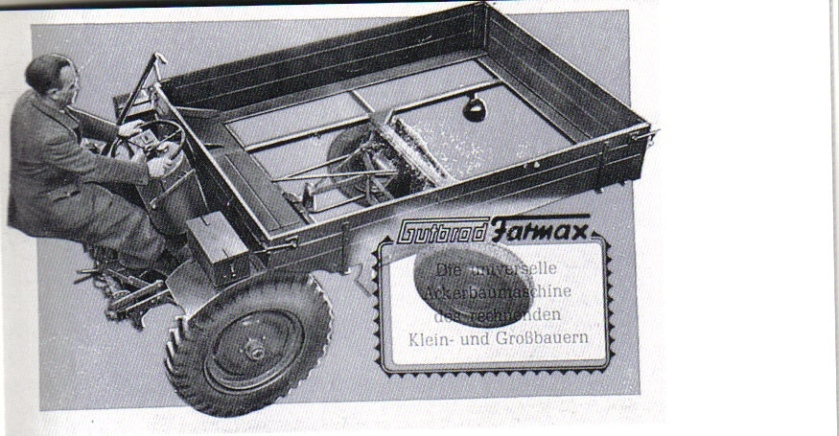 Gutbrod motorbouw Duitsland Model Farmax Type