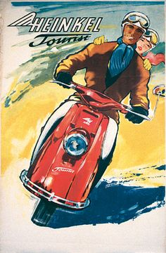 Heinkel Scooter Tourist