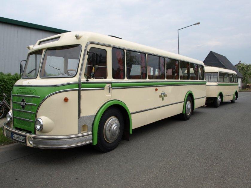 IFA H 6 B mit Anhänger W 701a in Reko-Ausführung