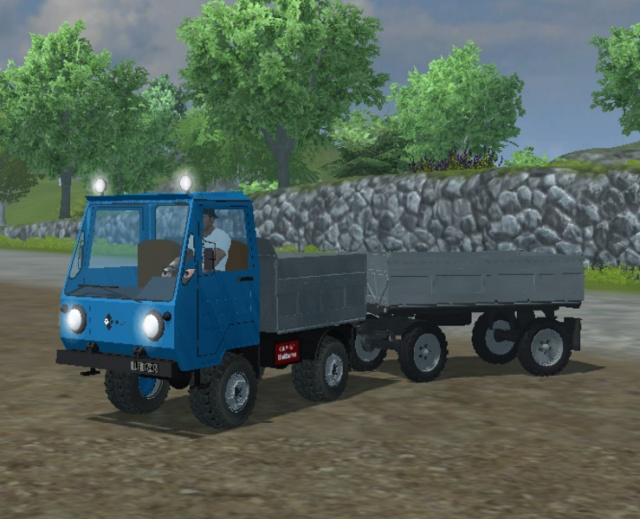 Ifa Multicar pack Mod for Farming Simulator 2013
