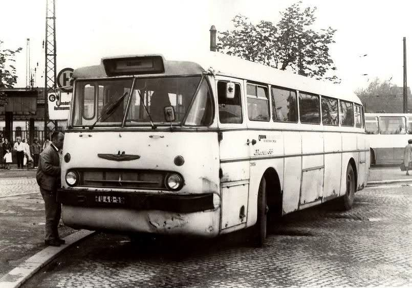 Ikarus 66 des VEB Kraftverkehr Zwickau
